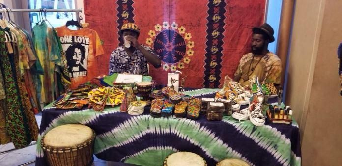 Evening ghana vendor