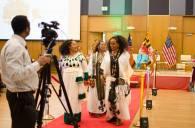 Evening of cultures Ethiopian braids 2017