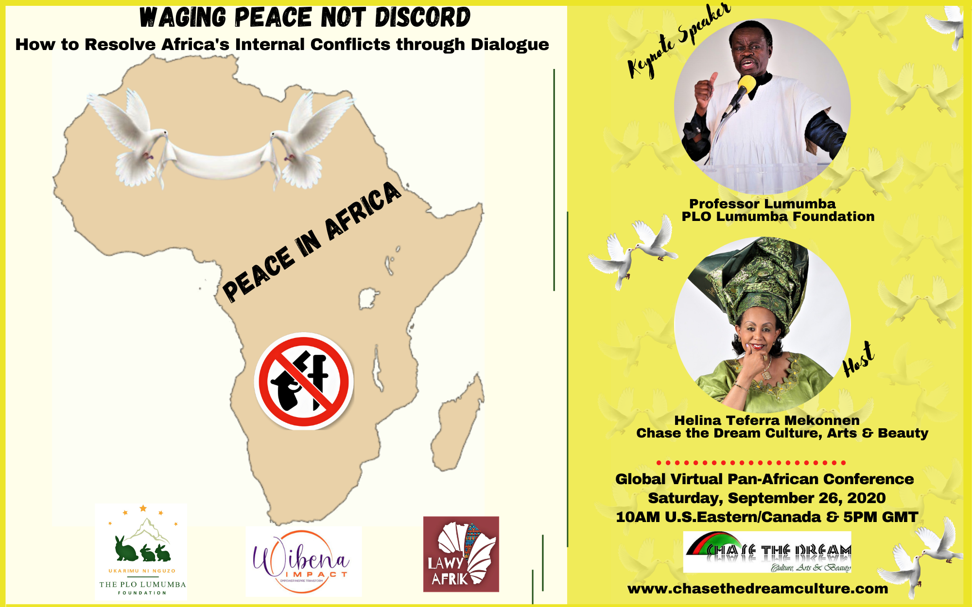 Peace Conference Flyer